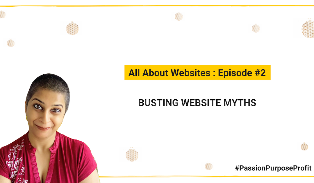 Busting Myths: What to write on your website