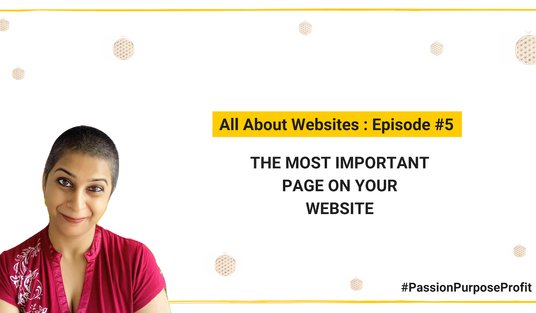 The most important page on your website is NOT your About page
